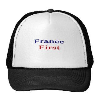 Francia primero gorro de camionero
