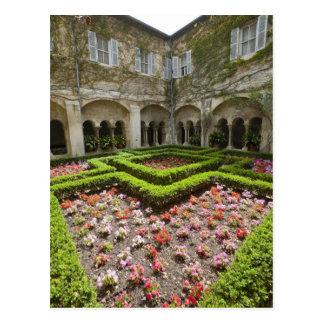 Francia, Provence, St. Remy-de-Provence. Jardín Tarjetas Postales
