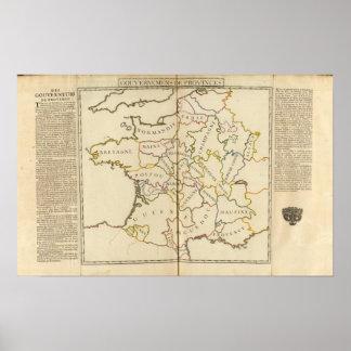 Francia, Providences y límites Impresiones