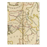 Francia, Providences y límites Postal