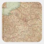 Francia septentrional 3234 calcomanías cuadradases