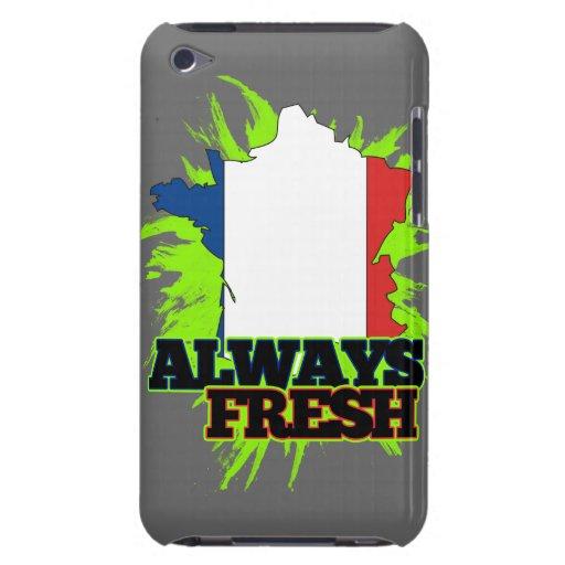 Francia siempre fresca iPod touch Case-Mate cobertura