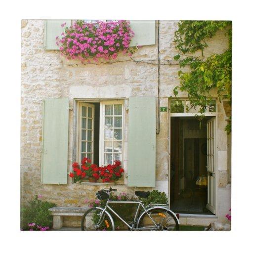 Francia soleada azulejo cuadrado pequeño