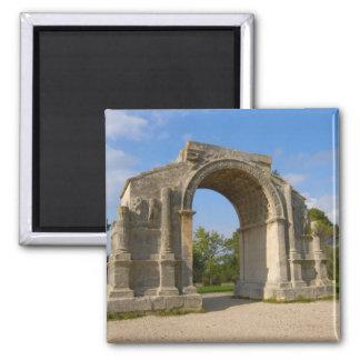 Francia, St. Remy de Provence, arco triunfal Imán Cuadrado
