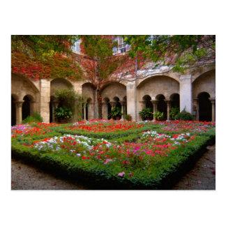 Francia, St. Remy de Provence, claustros en 2 Postal