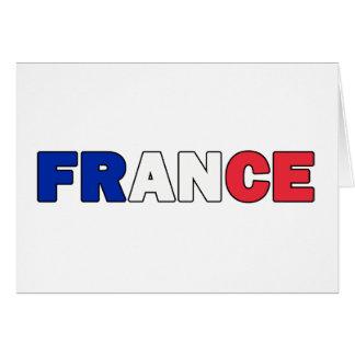 Francia Tarjeta De Felicitación