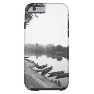 FRANCIA, Touraine, el Loira: Barcos de CHINON Funda De iPhone 6 Tough