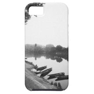 FRANCIA, Touraine, el Loira: Barcos de CHINON Funda Para iPhone SE/5/5s
