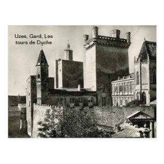 Francia, Uzes, Gard, Les viaja a de Duche Tarjetas Postales