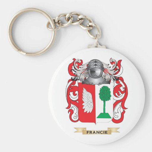 Francie Coat of Arms Key Chains