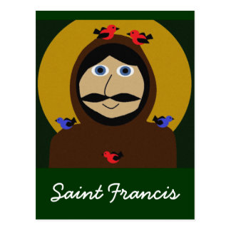 Francis and the Birds Postcard