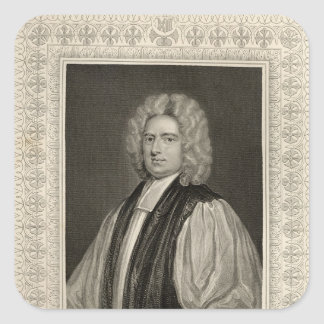 Francis Atterbury, Bishop of Rochester Square Sticker