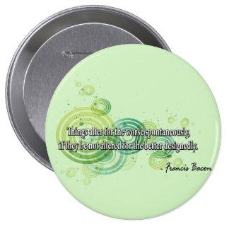 Francis Bacon Button