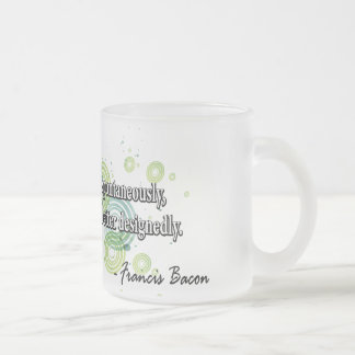 Francis Bacon Frosted Glass Coffee Mug
