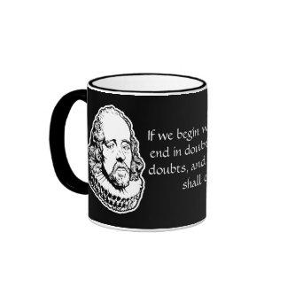 Francis Bacon Quote Mug