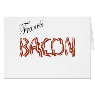 Francis Bacon Tarjeta