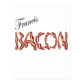Francis Bacon Tarjeta Postal