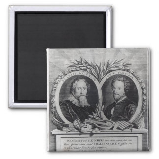 Francis Beaumont and John Fletcher Refrigerator Magnets