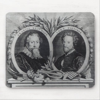 Francis Beaumont and John Fletcher Mouse Pad