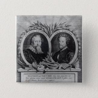 Francis Beaumont and John Fletcher Pinback Button
