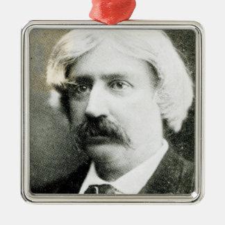 Francis Brett Harte Metal Ornament