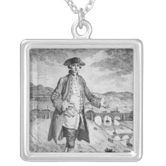 Francis Egerton , 3rd Duke of Bridgewater Silver Plated Necklace