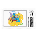 Francis, Flik, and Mr. Soil - A Bug's Life Disney Postage