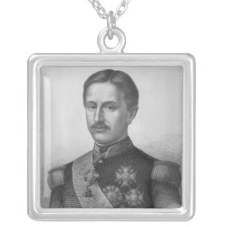 Francis II of the Two Sicilies Silver Plated Necklace