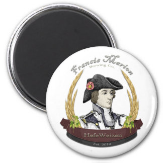 Francis Marion Brewing Co. 2 Inch Round Magnet