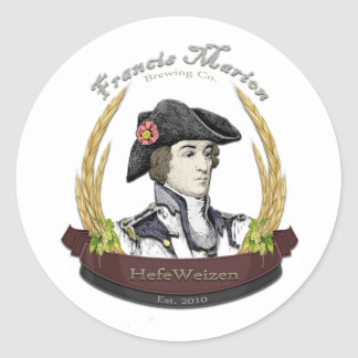 Francis Marion Brewing Co. Classic Round Sticker