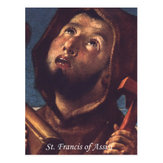 Francis of Assisi Postcard