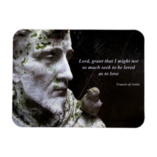 Francis of Assisi with Bird Magnet