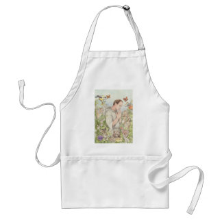 Francis of Assisi with the Animals Adult Apron