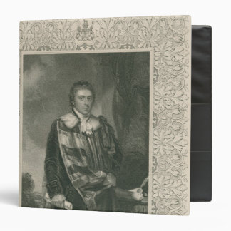 Francis Russell  5th Duke of Bedford 3 Ring Binder