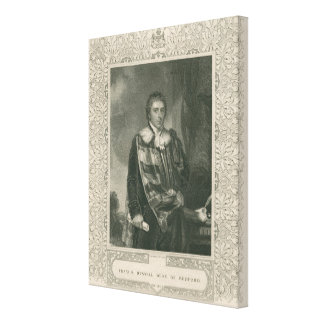 Francis Russell  5th Duke of Bedford Canvas Print
