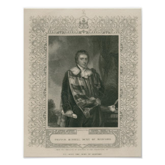 Francis Russell  5th Duke of Bedford Posters