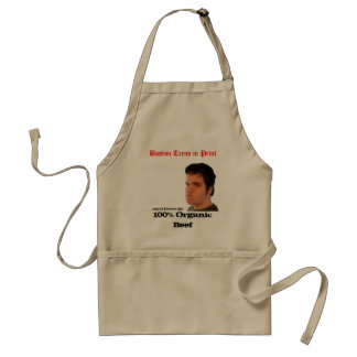 Francis Says obey- For Hat, 100% Organic Beef, ... Adult Apron