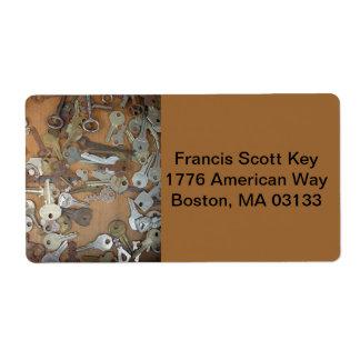 Francis Scoot Key RA Label
