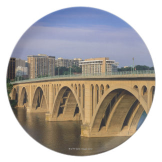Francis Scott Key Bridge in daylight Plates