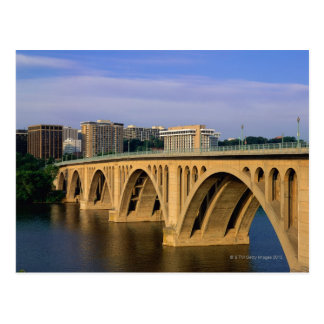 Francis Scott Key Bridge in daylight Postcard