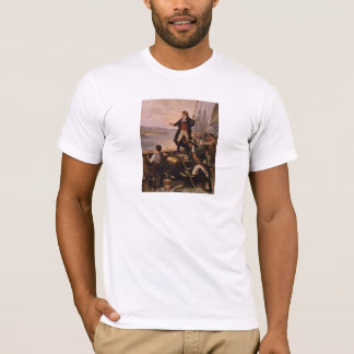 Francis Scott Key - Star Spangled Banner Painting T-Shirt