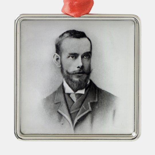 Francis Thompson, engraved by Emery Walker, 1894 Metal Ornament