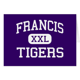 Francis - Tigers - Junior - Washington Greeting Card