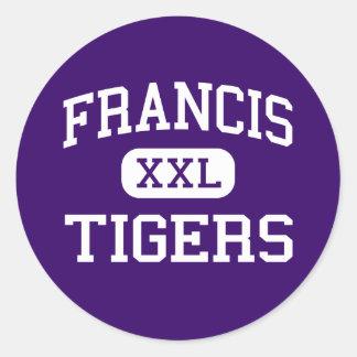 Francis - Tigers - Junior - Washington Round Sticker