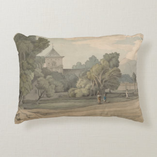 Francis Towne - New Radnor Decorative Pillow