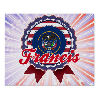 Francis, UT Poster