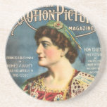 Francis X Bushman 1916 vintage portrait Drink Coasters