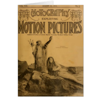 Francis X. Bushman silent movie Neptune's 1912 Card