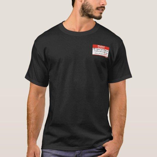 Francis York Morgan Hello tag (Deadly Premonition) T-Shirt