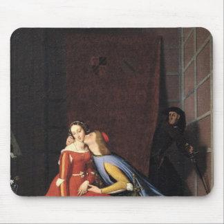 Francisca DA Rímini y Paolo Malatesta, 1819 Tapetes De Ratón